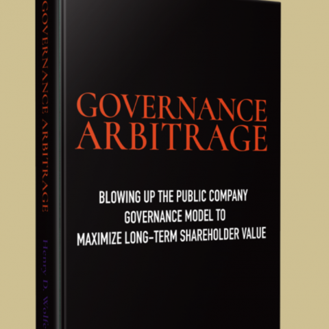 Governance Arbitrage Book Website