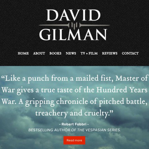 David Gilman Author Website