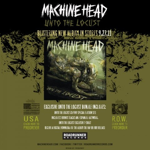 Machine Head - Band Landing Page