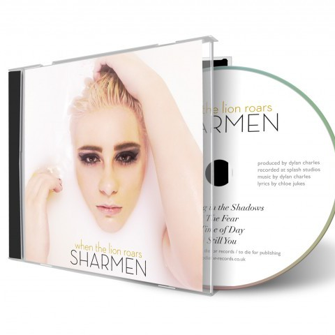 Sharmen - CD Cover Design